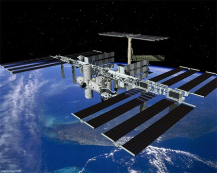 The International Space Station Solar Planels